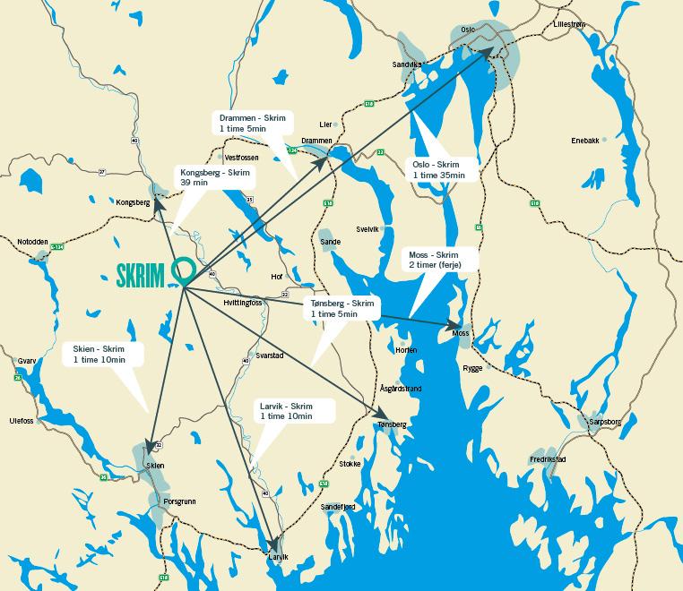 skrimfjellet kart Hvor er Skrim? skrimfjellet kart